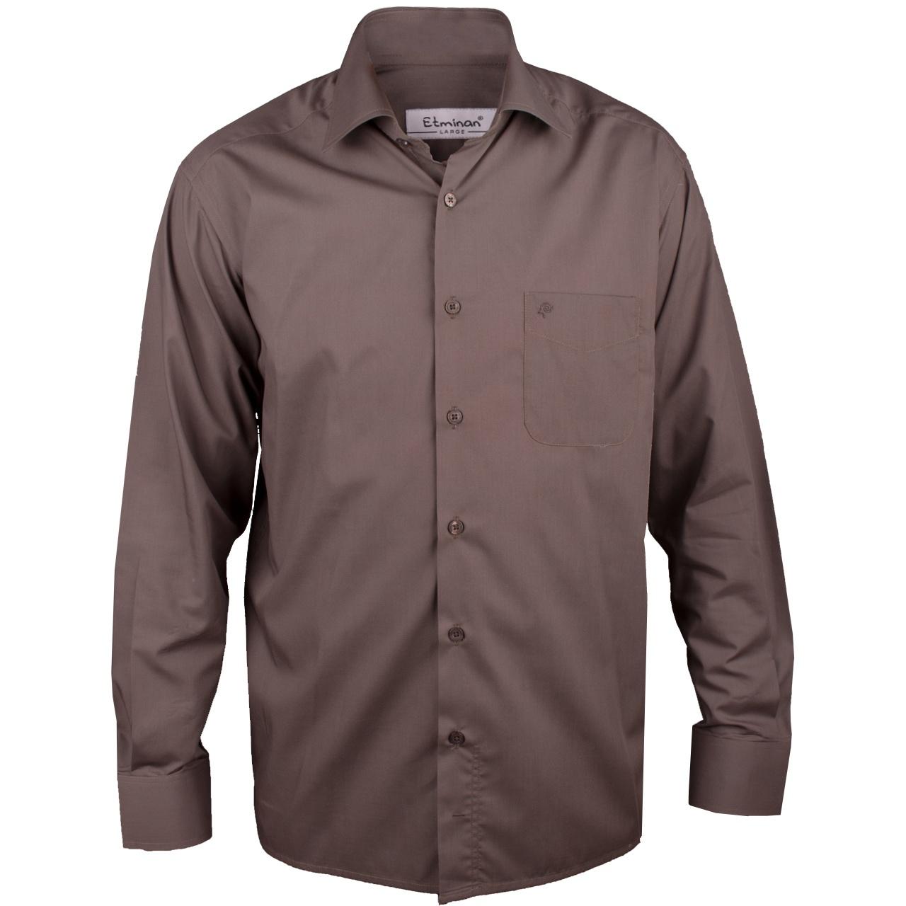 پیراهن مردانه اطمینان مدل کلاسیک