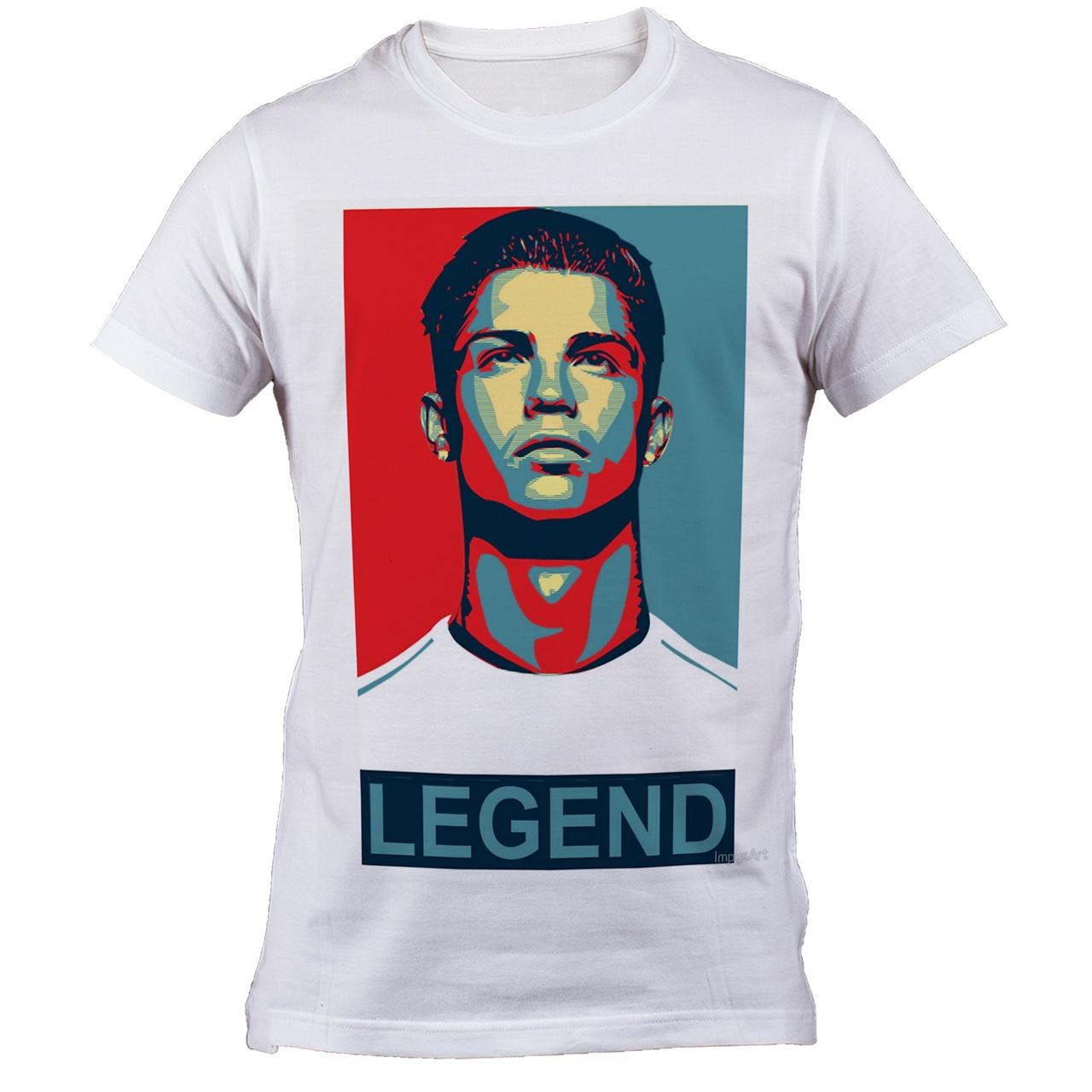 تی شرت مردانه طرح رونالدو مدل B 6051