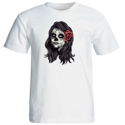 تصویر تی شرت زنانه الی شاپ طرح جوکر 12623