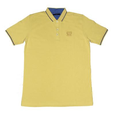 تصویر پولوشرت آستین کوتاه مردانه مدل Yellow