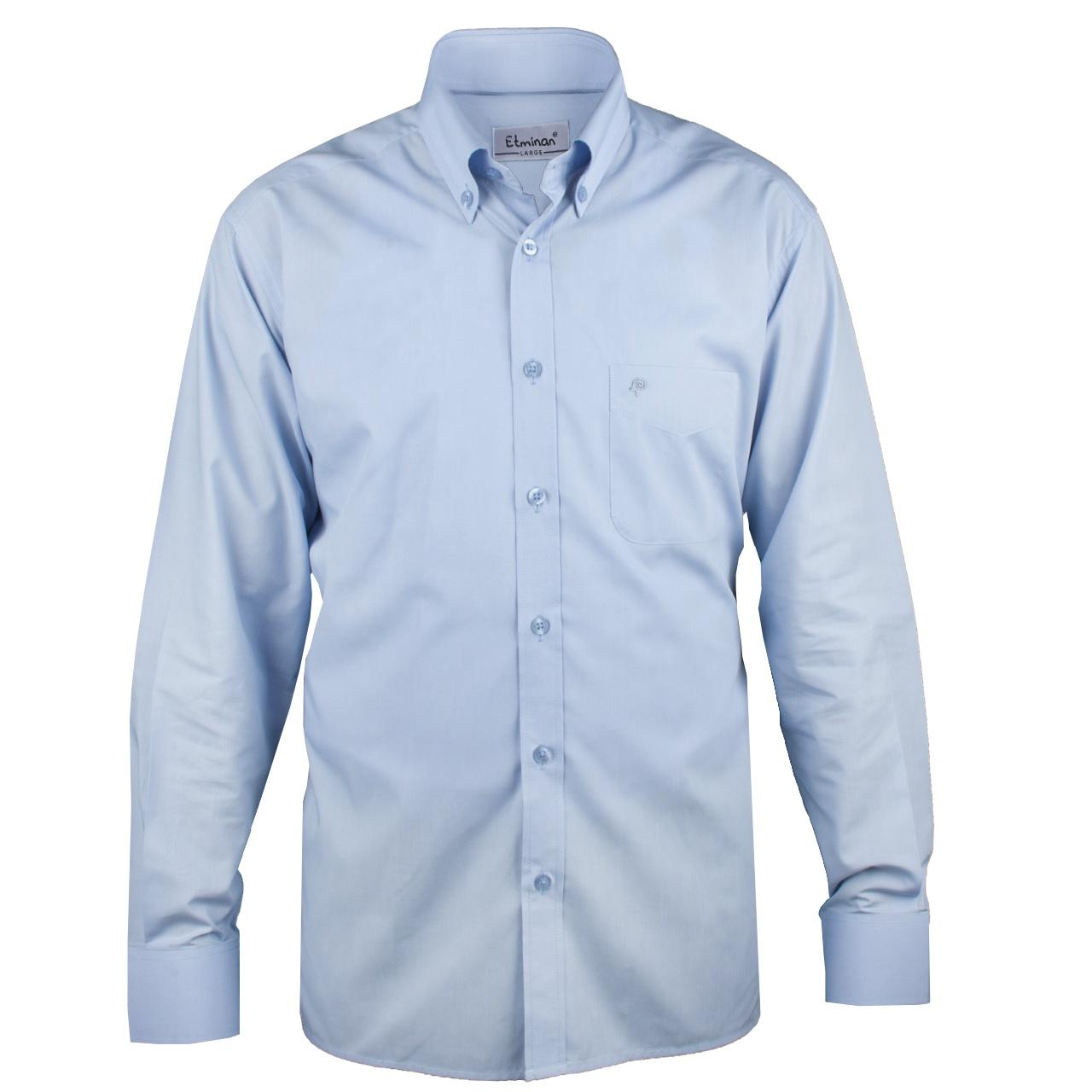پیراهن آستین بلند مردانه اطمینان مدل مدیر