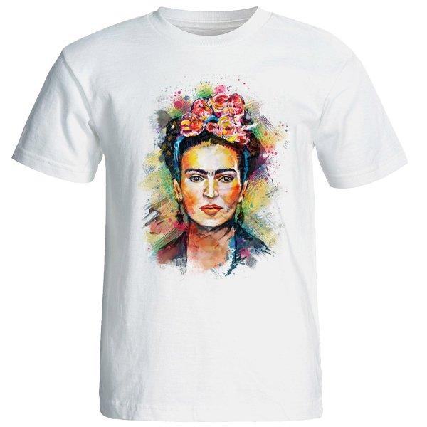 تیشرت آستین کوتاه زنانه تارپون طرح فانتزی کد 10571