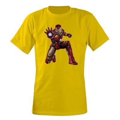 تصویر تی شرت مردانه مسترمانی مدل avengers مردآهنی کد 954