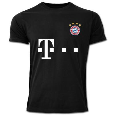 تصویر تی شرت مردانه طرح بایرن مونیخ کد 8A1
