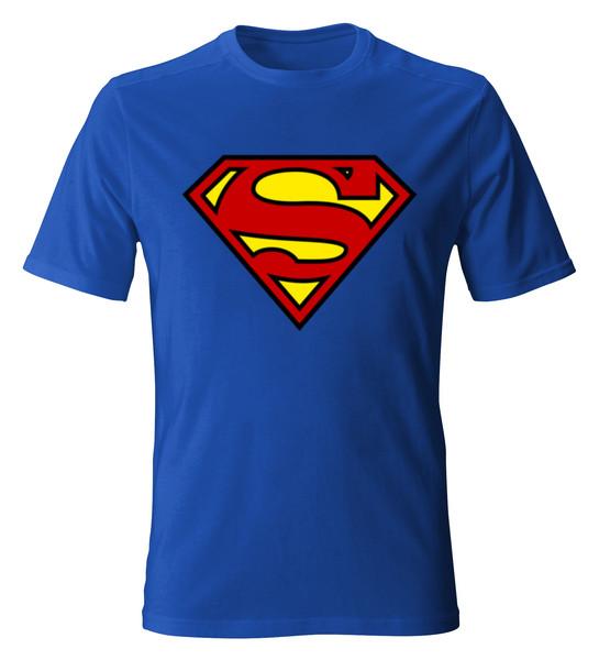 تیشرت آستین کوتاه مردانه طرح سوپرمن