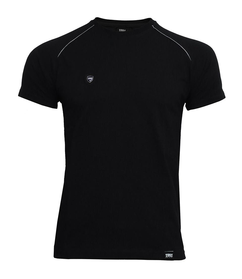 تی شرت مردانه 1991 اس دبلیو مدل Crook Black