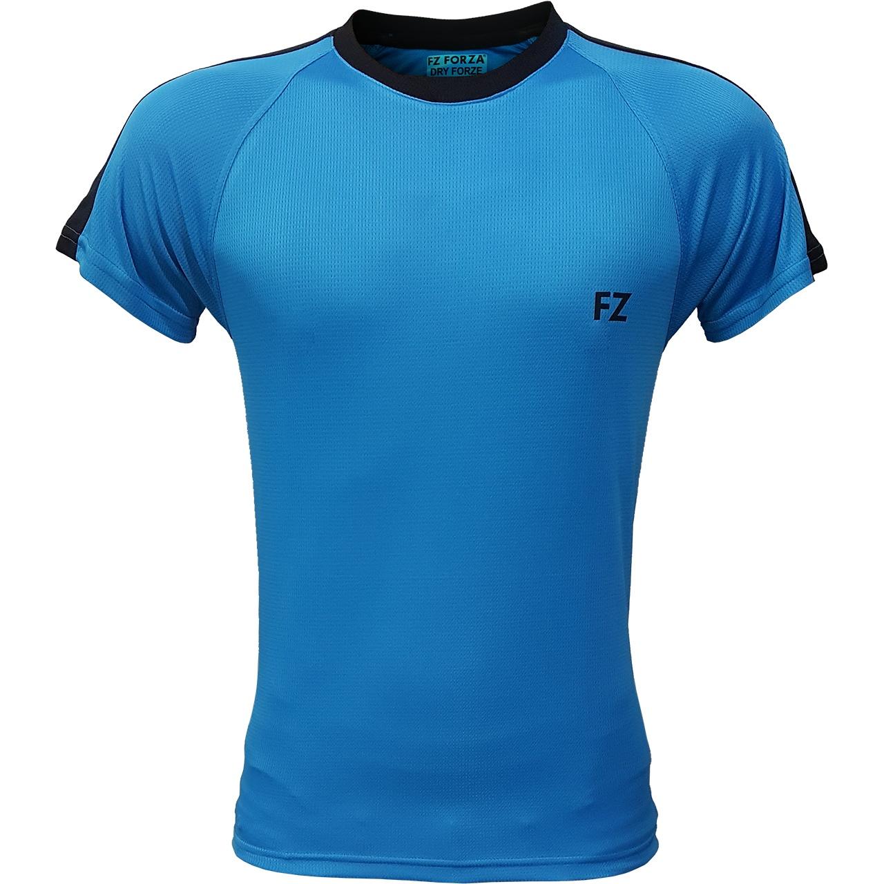 تیشرت ورزشی اف زد فورزا مدل Line کد 04 رنگ آبی کم رنگ