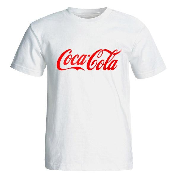 تی شرت آستین کوتاه مردانه طرح کوکاکولا کد 4824
