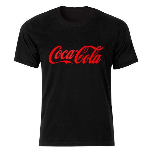 تی شرت آستین کوتاه نه طرح كوكا كولا  کد 4813 R