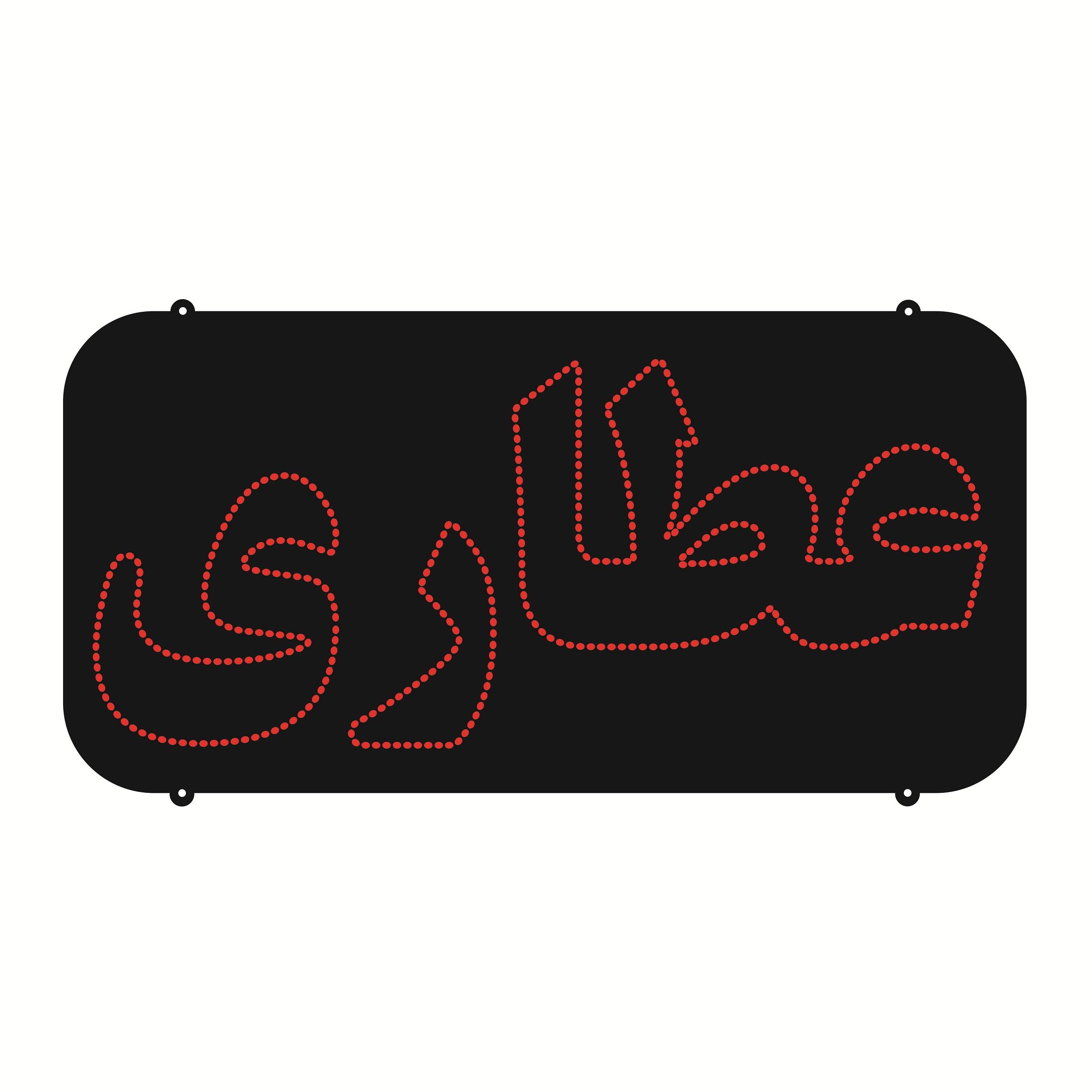 تابلو ال ای دی طرح عطاری کد ۱۵۰۲