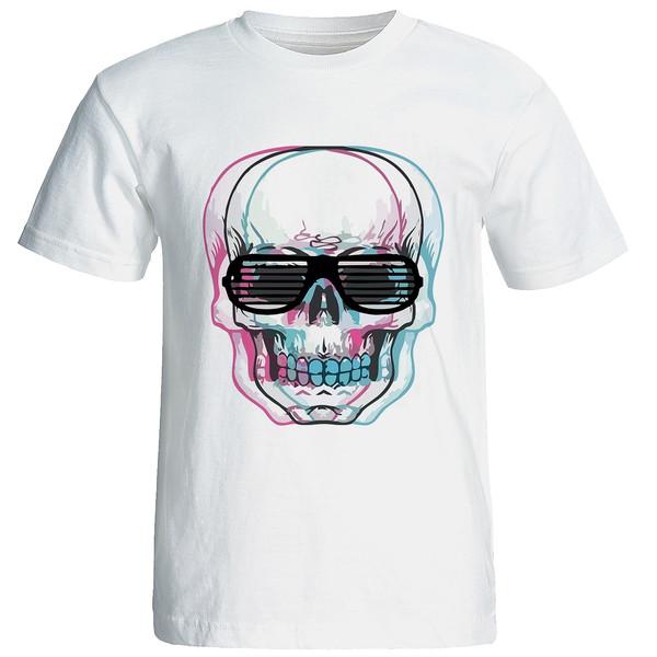 تی شرت طرح اسکلت مدل w151