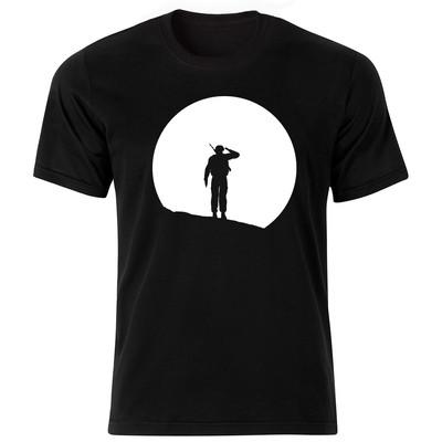 Photo of تی شرت مردانه طرح سرباز مدل BW-15063