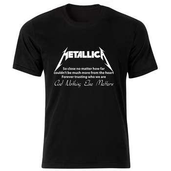 تی شرت زنانه طرح متالیکا کد 28