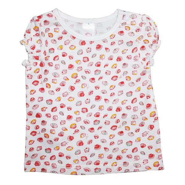 تی شرت دخترانه بیبی کلاب مدل Shell