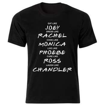 تی شرت زنانه طرح سریال فرندز کد 37