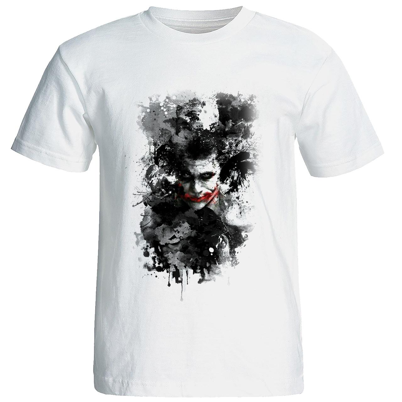 تی شرت زنانه طرح جوکر کد w100
