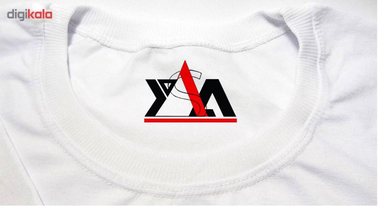 تیشرت آستین کوتاه مردانه یاسا طرح y365 main 1 2