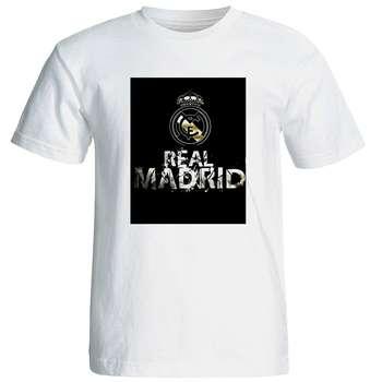 تی شرت آستین کوتاه مردانه طرح رئال مادرید کد 1496