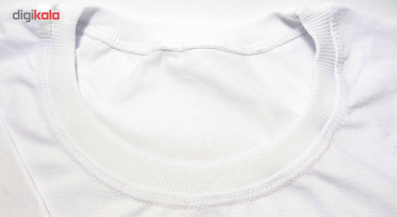 تی شرت آستین کوتاه مردانه طرح رئال مادرید کد 1496 main 1 3