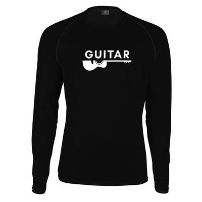 تصویر تیشرت آستین بلند پاتیلوک طرح گیتار مدل 330339