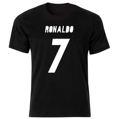 تصویر تی شرت آستین کوتاه مردانه طرح رونالدو کد BW1492