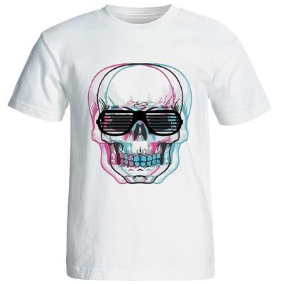 تی شرت زنانه طرح اسکلت مدل w151