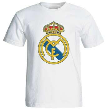 تی شرت آستین کوتاه مردانه طرح رئال مادرید کد 1491