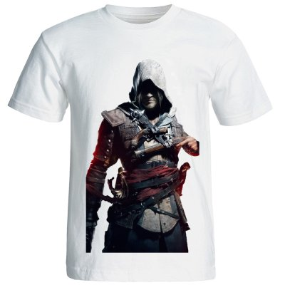تصویر تیشرت مردانه مدل 15078 Assassin creed