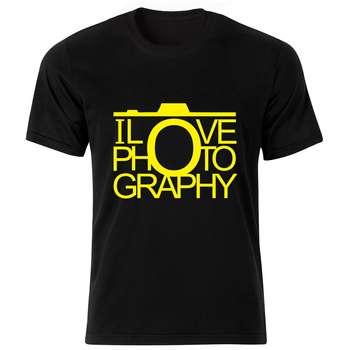 تی شرت مردانه طرح عکاسی کد 753