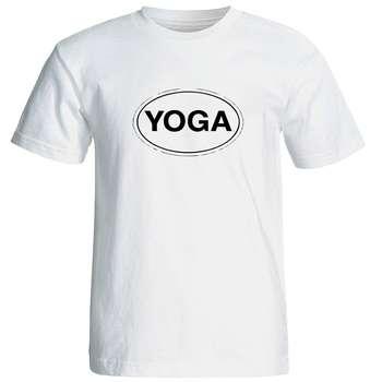 تی شرت مردانه طرح یوگا کد  12672