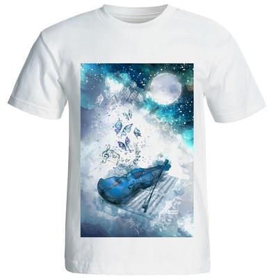 Photo of تی شرت زنانه طرح 15084 Violin
