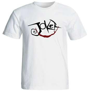 تی شرت آستین کوتاه مردانه طرح جوکر کد 6903