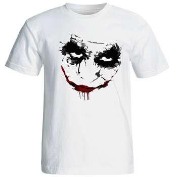تی شرت آستین کوتاه مردانه طرح جوکر کد 6911