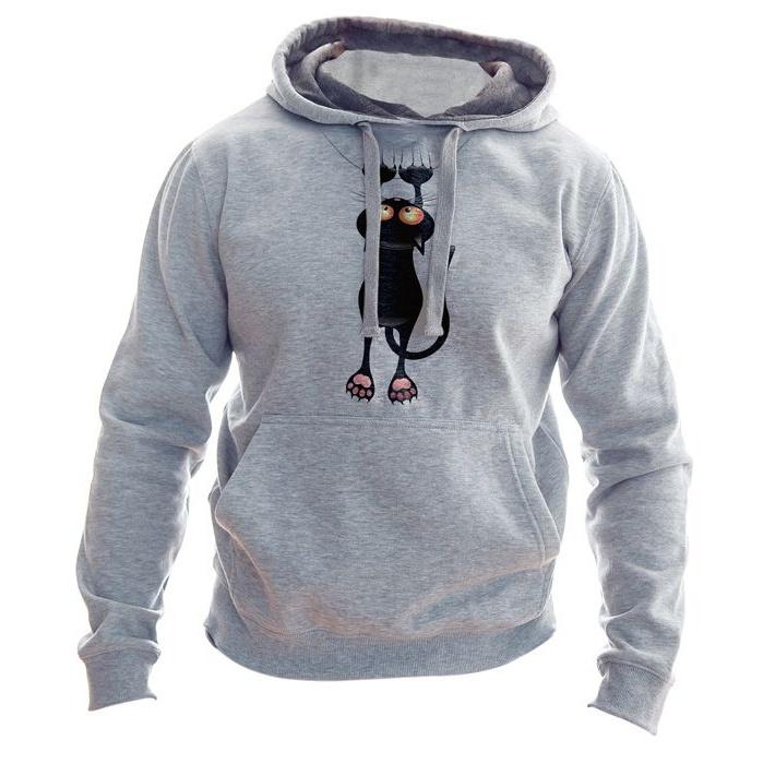 هودی مردانه به رسم طرح گربه کد 156 main 1 1