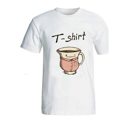 تی شرت آستین کوتاه زنانه ایران ترکی طرح فانتزی مدل 005