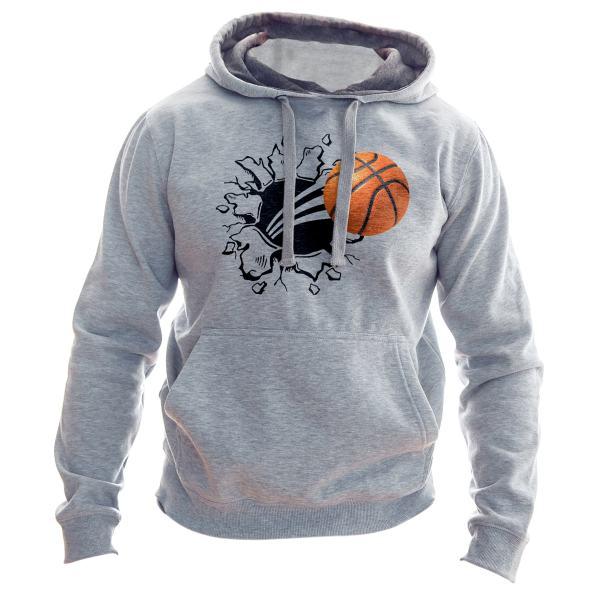 هودی مردانه به رسم طرح توپ بسکتبال کد 125