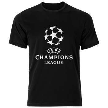 تی شرت نخی ورزشی مردانه فلوریزا  طرح لیگ قهرمانان اروپا مدل CHAMPIONS LEAGUE 002M تیشرت