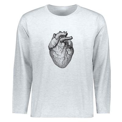 تصویر تیشرت مردانه طرح قلب کد ETLM15