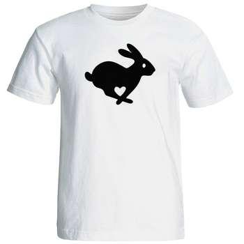 تی شرت مردانه طرح خرگوش کد 12718