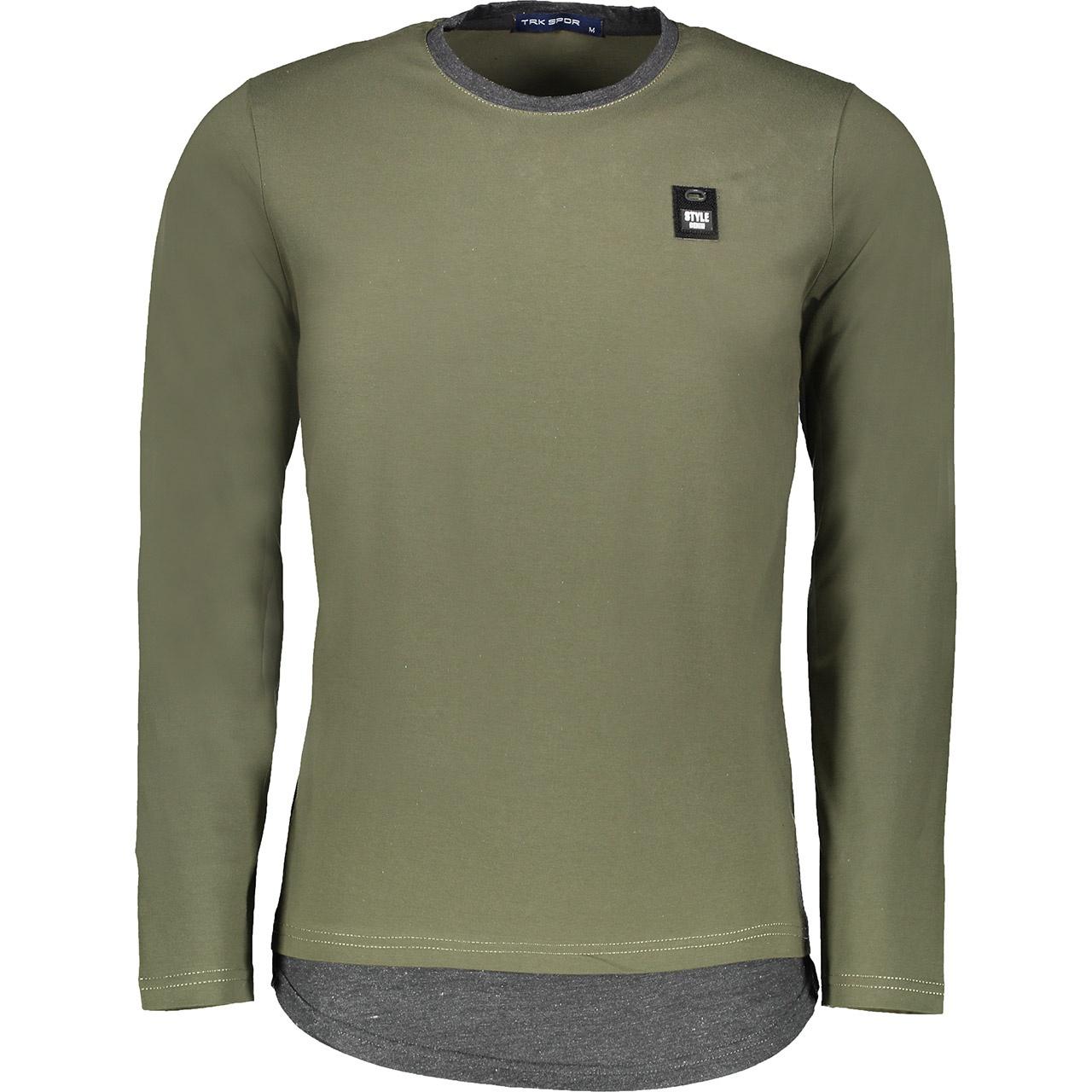 خرید ارزان تی شرت آستین بلند مردانه تارکان کد btt 253-2