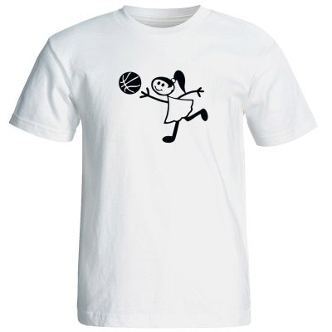 تی شرت زنانه طرح بسکتبال کد 12749