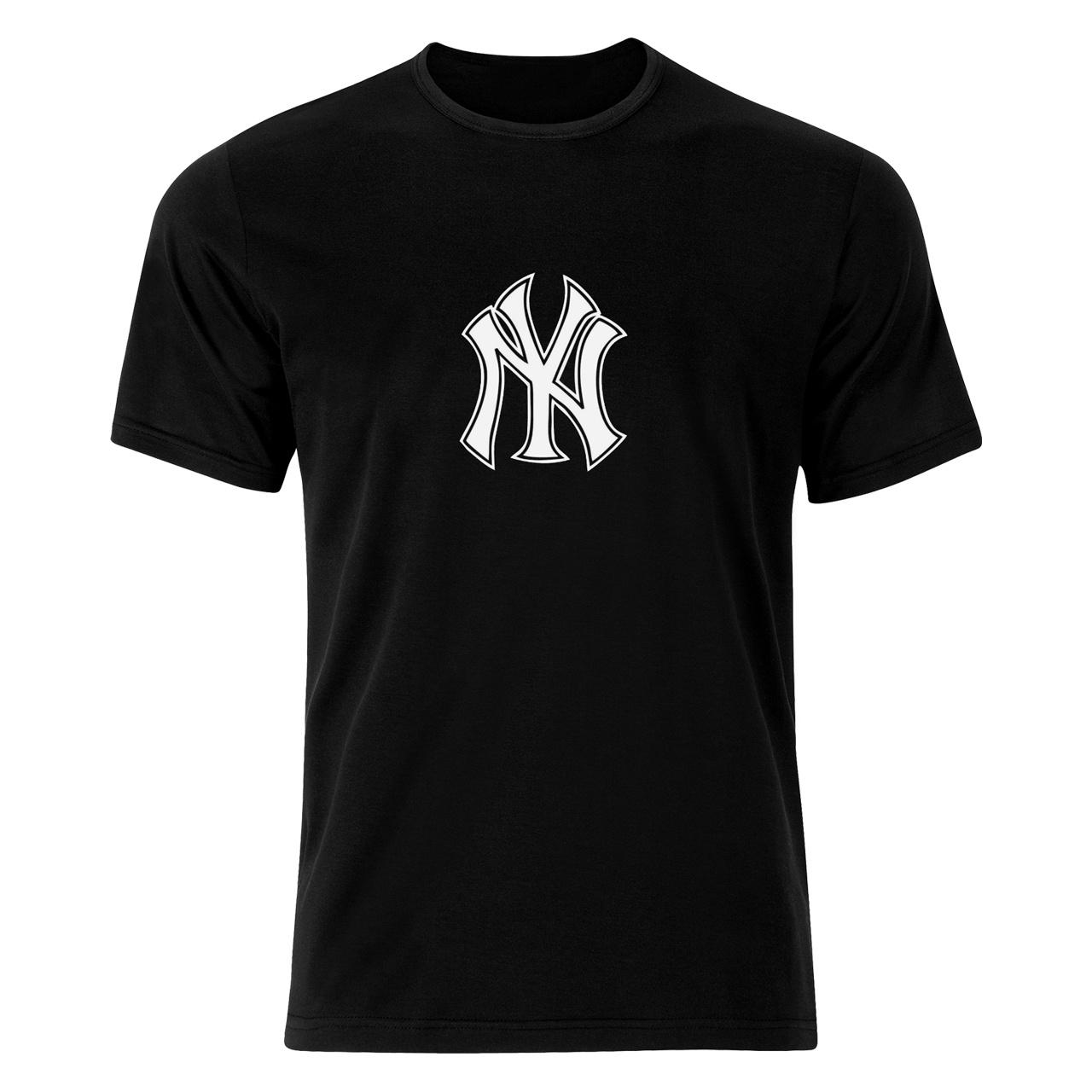 تصویر تی شرت مردانه طرح یانکی مدل  B 77181