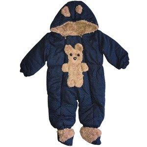 کاپشن سرهمی نوزادی طرح Bear