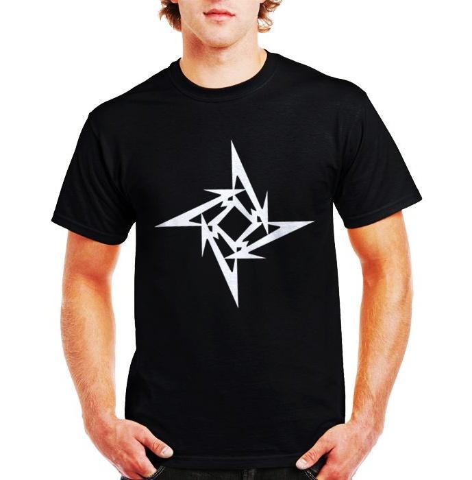 تی شرت نخی مردانه طرح گروه موسیقی متالیکا کد Metalica 001M تیشرت main 1 1