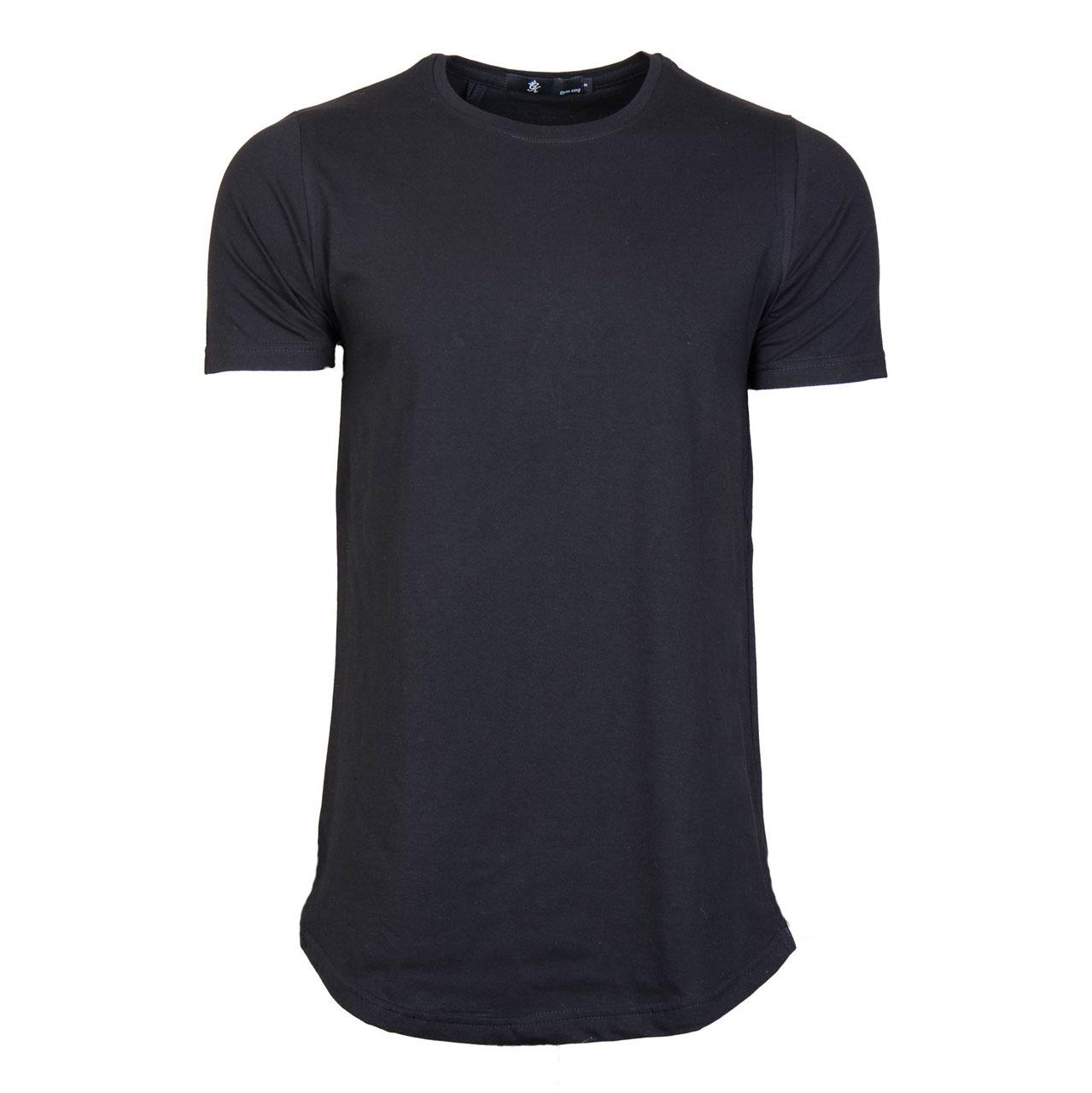 تصویر خرید تی شرت مردانه مدل لانگ مشکی