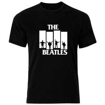 تی شرت نخی مردانه فلوریزا طرح گروه موسیقی بیتلز کد Beatels 002M تیشرت