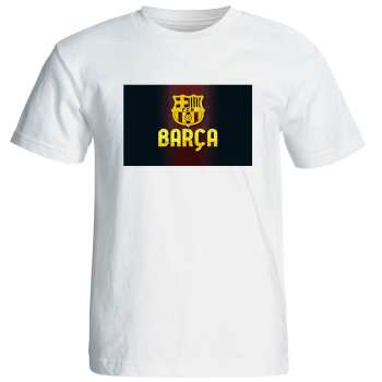 تی شرت مردانه طرح بارسلونا کد 6943