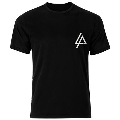 تصویر تی شرت نخی مردانه فلوریزا طرح گروه موزیک لینکین پارک کد Linnkin park 001M تیشرت