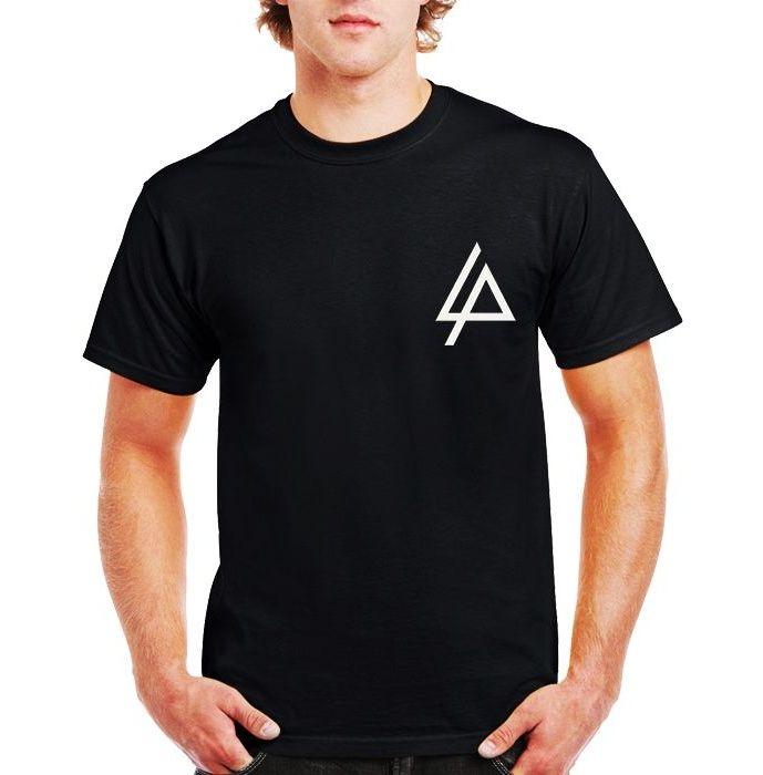 تی شرت مردانه فلوریزا طرح گروه موزیک لینکین پارک کد Linnkin park 001M main 1 1