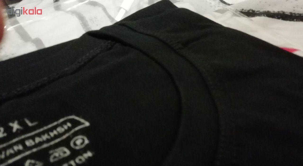 تی شرت مردانه فلوریزا طرح گروه موزیک لینکین پارک کد Linnkin park 001M main 1 4